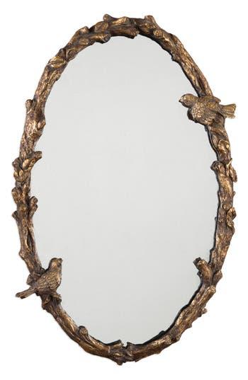 Uttermost Paza Vine Oval Wall Mirror, Size One Size - Metallic