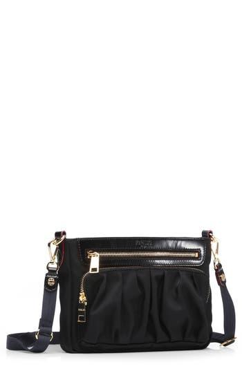 Mz Wallace 'Abbey' Bedford Nylon Crossbody Bag - Black