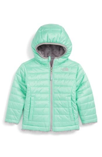 Toddler Girl's The North Face Mossbud Reversible Heatseeker™ Wind Resistant Jacket