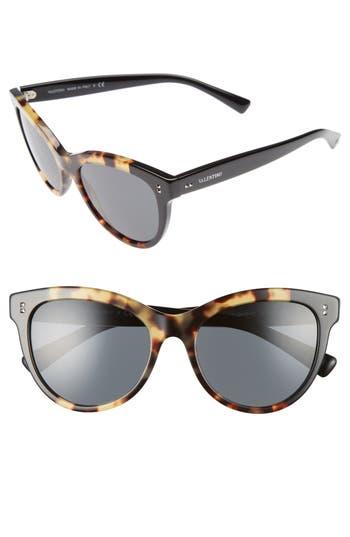 Women's Valentino 54Mm Cat Eye Sunglasses -