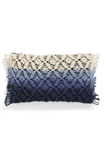 Eightmood Dip Dye Pillow, Size One Size - Blue