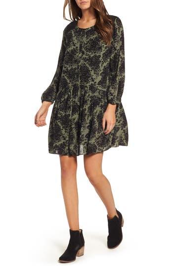 Women's Hinge Button Front Dress