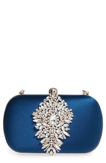 Badgley Mischka Aurora Clutch - Blue