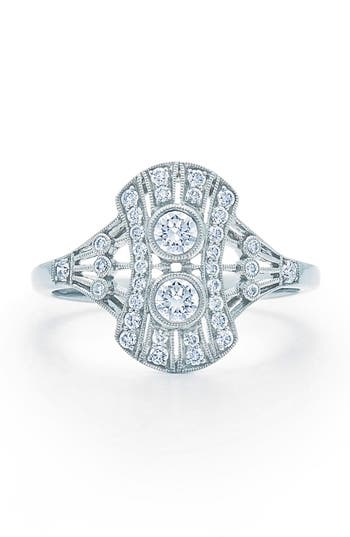 Women's Kwiat Vintage Oval Diamond Ring