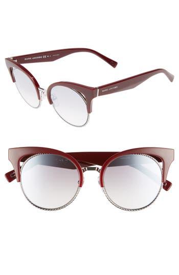 Women's Marc Jacobs 51Mm Gradient Lens Cat Eye Sunglasses -