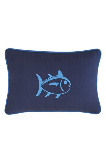 Southern Tide Dock Street Stripe Skipjack Accent Pillow, Size One Size - Blue