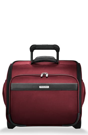 Briggs & Riley Transcend 400 Wheeled Cabin Bag - Red