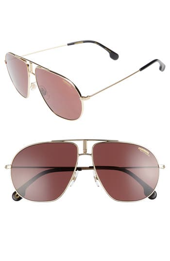 Carrera Bound 62Mm Sunglasses - Gold
