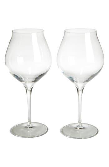 Luigi Bormiolo Vinea Corvina/amarone Set Of 2 Red Wine Glasses, Size One Size - White
