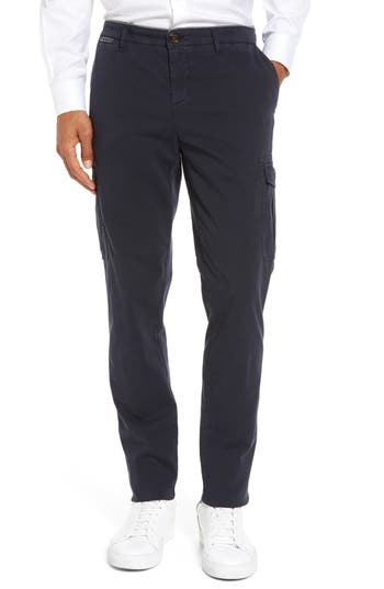 Men's Eleventy Stretch Cotton Cargo Pants