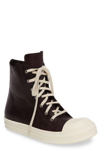 Men's Rick Owens High Top Sneaker