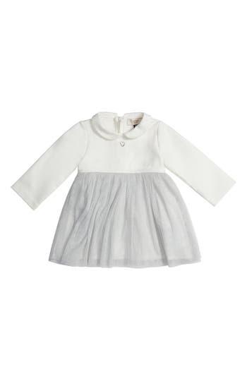 Infant Girl's Armani Junior Jersey & Tulle Dress