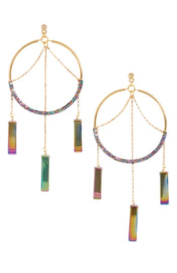 Women's Vanessa Mooney The Meadows Hoop Earrings