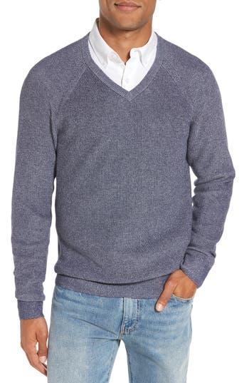 Men's Nordstrom Men's Shop Supima Cotton V-Neck Sweater