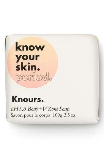 Knours Know Your Skin. Period. Ph 5.6 Body+V Zone Soap