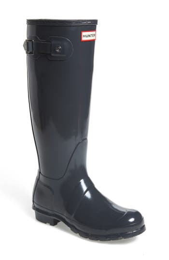 Hunter Original High Gloss Boot, Grey