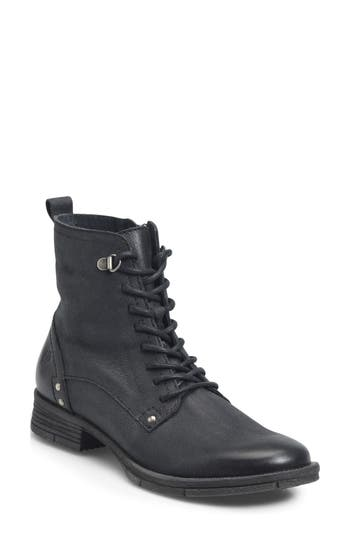 B?rn Joris Lace-Up Boot, Black