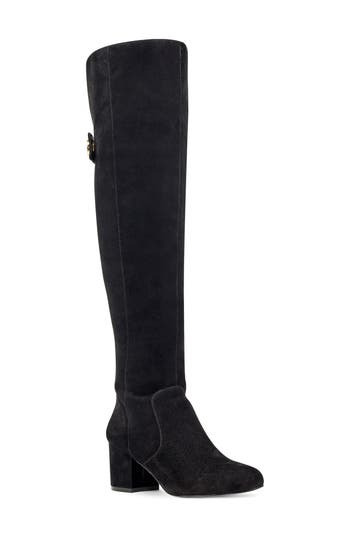 Nine West Queddy Over The Knee Boot, Black