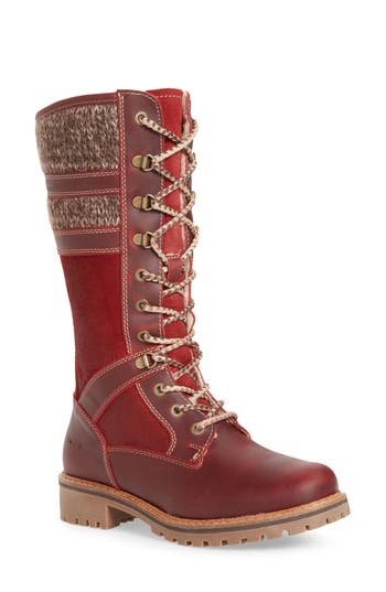 Bos. & Co. Holding Waterproof Boot, Red