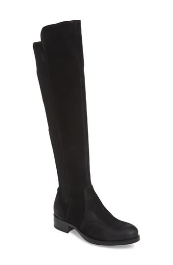 Bos. & Co. Bunt Waterproof Over The Knee Boot - Black