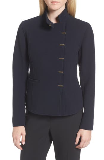 Women's Lewit Fitted Wool Jacket