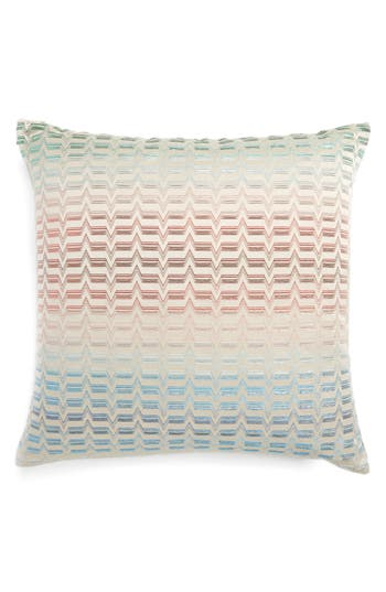 Missoni Tikal Accent Pillow, Size One Size - Blue/green