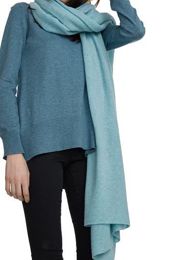 Women's White + Warren Travel Cashmere Wrap, Size One Size - Green