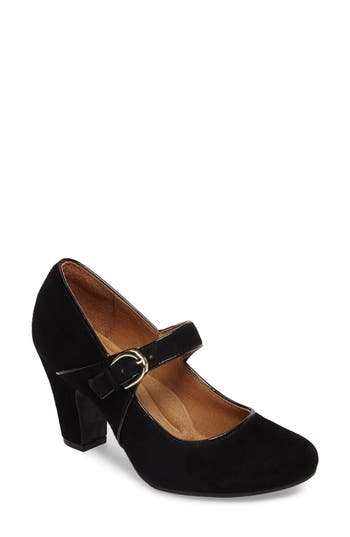 Women's Sofft 'Miranda' Mary Jane Pump, Size 6 M - Black