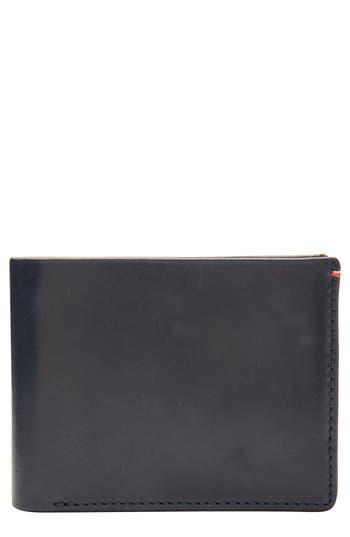 Jack Mason Core Leather Wallet - Blue