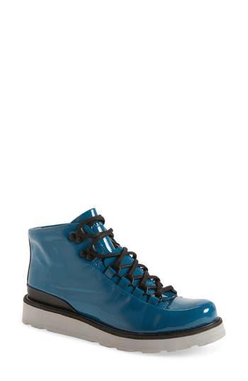 Women's Blackstone 'Mw76' Water Resistant Boot, Size 38 EU - Blue/green