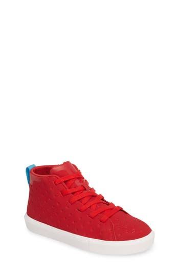 Boy's Native Monaco Sneaker, Size 1 M - Red