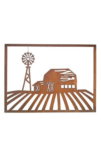 Foreside Barn Scene Wall Art