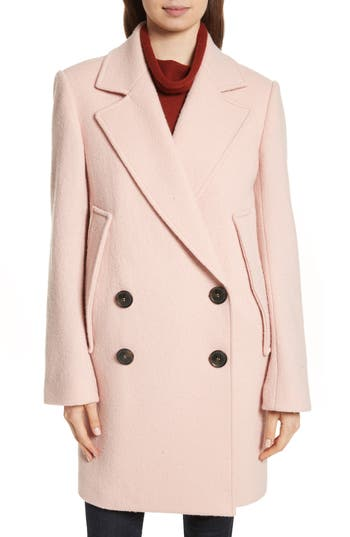 Women's Theory Wool Bouclé Coat