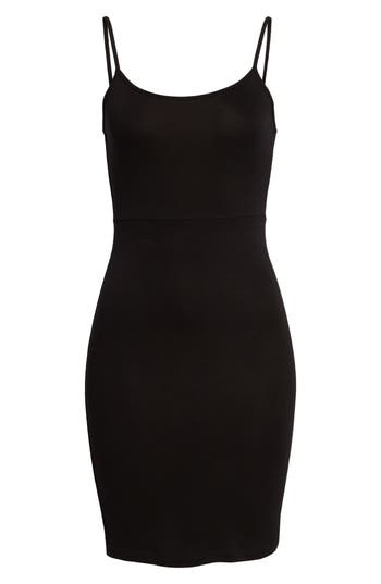 Women's Soprano Knit Sheath Dress, Size Medium - Black
