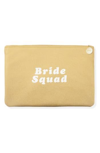 Fringe Studio Bride Squad Zip Pouch - Metallic