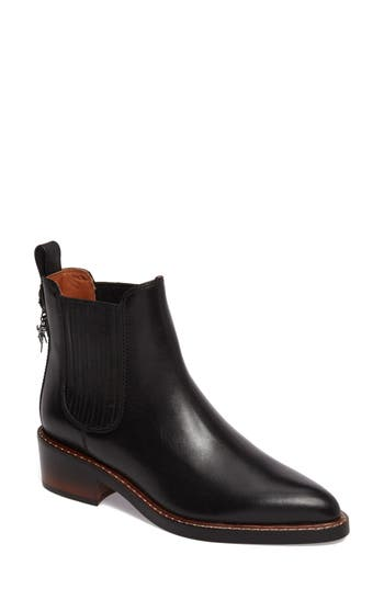 Women's Coach Bowery Embroidered Chelsea Bootie