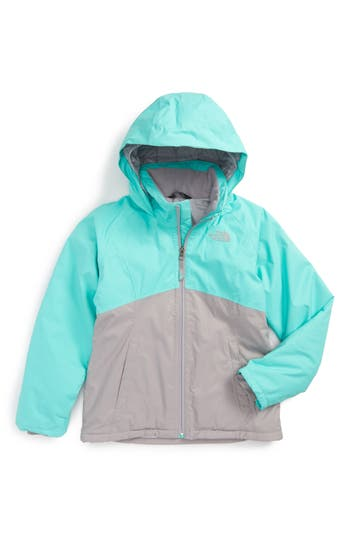Girl's The North Face Near & Far Waterproof Heatseeker™ Insulated Hooded Jacket