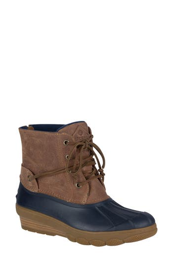 Sperry Saltwater Tide Wedge Boot, Blue