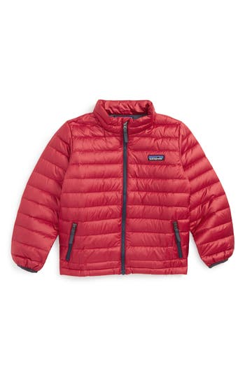 Boy's Patagonia Water Repellent 600-Fill Power Down Sweater Jacket