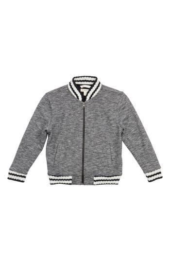 Boy's Tucker + Tate Mélange Varsity Jacket