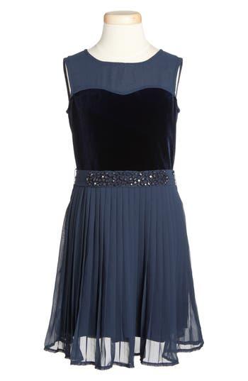 Girl's Armani Junior Sleeveless Party Dress