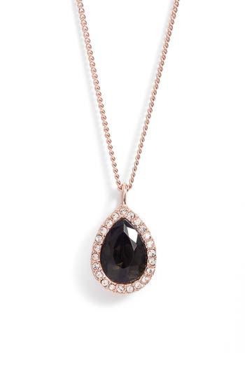 Women's Givenchy Pavé Pear Pendant Necklace