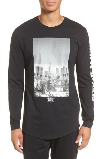 Nike Jordan City Of Flight T-Shirt, Black