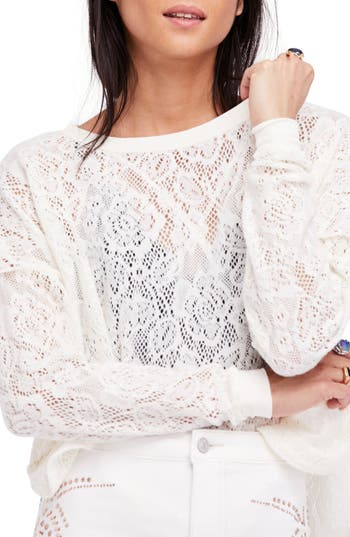 Free People Not Cold In This Top, Ivory
