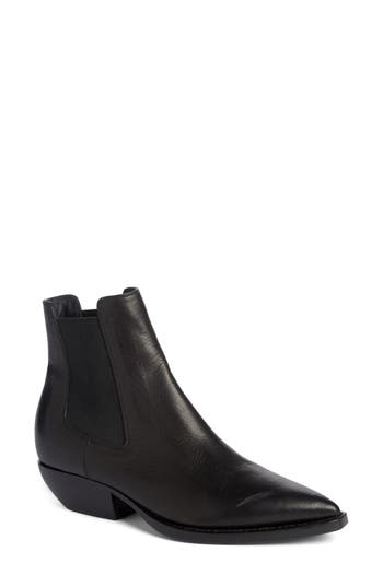 Saint Laurent Theo Boot - Black
