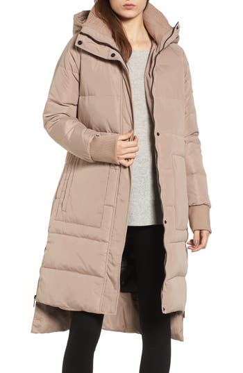 Bcbgeneration Down & Feather Fill Puffer Jacket, Pink