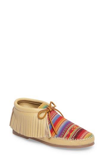 Retro Boots, Granny Boots, 70s Boots Womens Minnetonka Tierra Bootie $67.95 AT vintagedancer.com