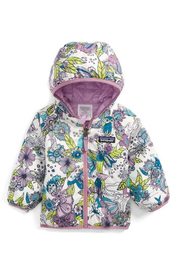 Infant Patagonia Puff-Ball Water Resistant Reversible Jacket