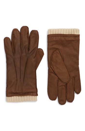 Men's Nordstrom Men's Shop Leather Gloves