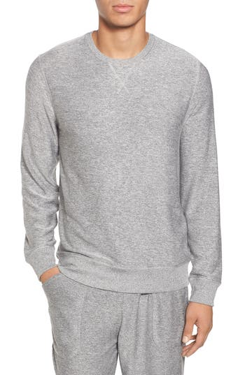 Nordstrom Shop Ultra Soft Crewneck Sweatshirt, Grey